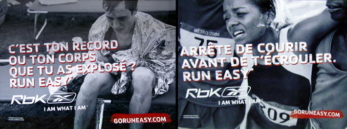 Reebok, run easy