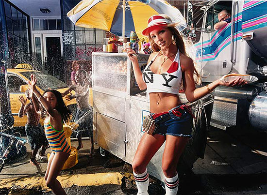 David LaChapelle - Britney Spears Hot Dog Vendor