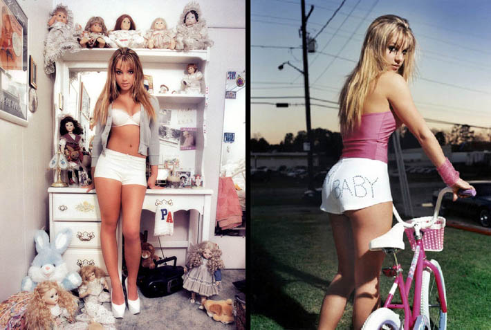David LaChapelle - Britney Spears PORTRAIT OF A YOUNG POP STAR ON THE VERGE OF SUCCESS
