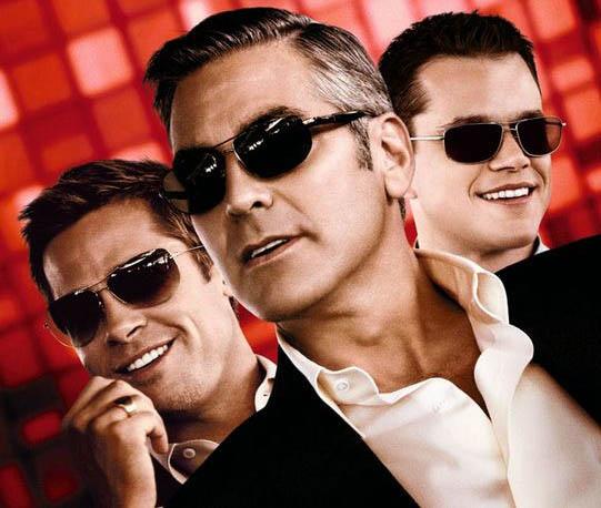 George Clooney Brad Pitt Matt Damon e3cc4e829932