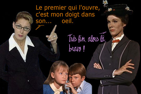 MARY POPPINS super nanny
