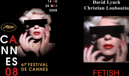 cannes affiche 2008 lynch collier