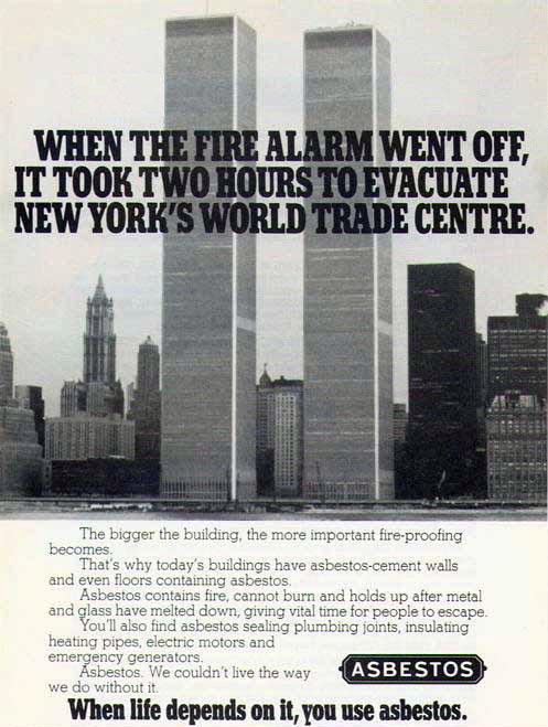 world trade center Asbestos